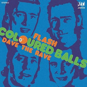 COLOURED BALLS - Flash / Dave The Rave 7""