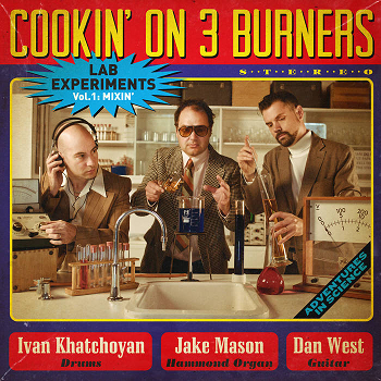 COOKIN' ON 3 BURNERS - Lab Experiments Vol.1: Mixin'  LP