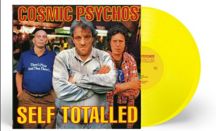COSMIC PSYCHOS - Self Totalled LP (colour vinyl)