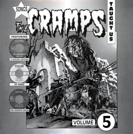 v/a- SONGS THE CRAMPS TAUGHT US Vol 5 - LP