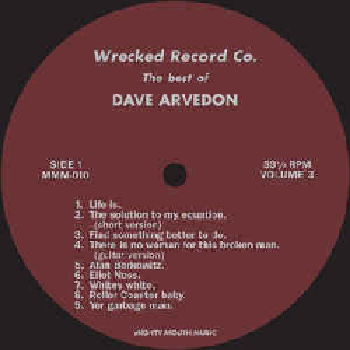 DAVE ARVEDON ‎– The Best Of Dave Arvedon Volume 3