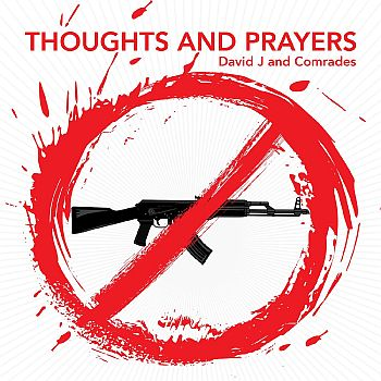 DAVID J - Thoughts & Prayers / Hole In the Middle 7""