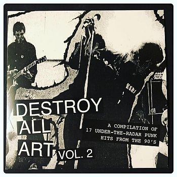 * PREORDER * v/a- DESTROY ALL ART Vol. 2 LP