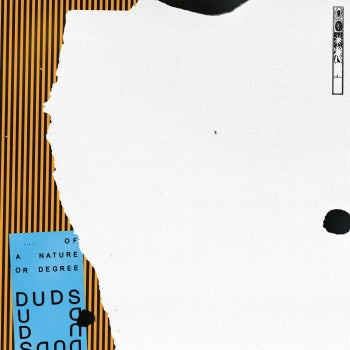 DUDS - Of A Nature Or Degree LP (colour vinyl)
