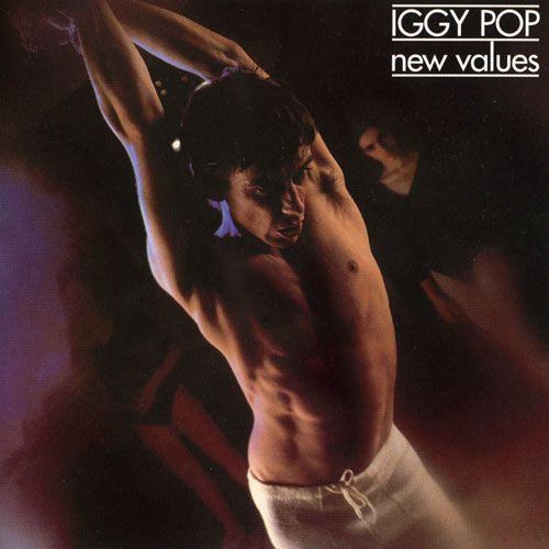 IGGY POP - New Values LP (colour vinyl)