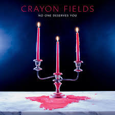 ** FLASH SALE ** CRAYON FIELDS - No One Deserves You LP