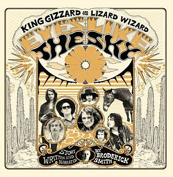 KING GIZZARD AND THE LIZARD WIZARD - Eyes Like The Sky LP (colour vinyl) / CD