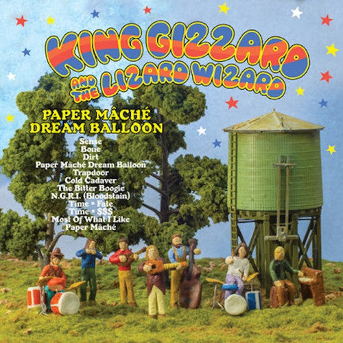 KING GIZZARD AND THE LIZARD WIZARD - Paper Mache Dream Balloon (U.S orange vinyl) LP