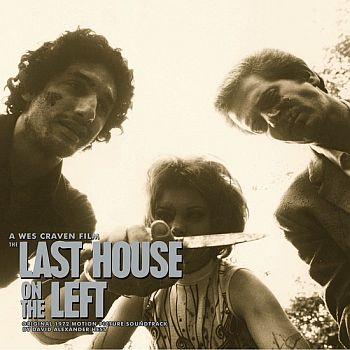 LAST HOUSE ON THE LEFT OST by David Hess LP (colour vinyl)
