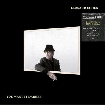 LEONARD COHEN - You Want It Darker LP