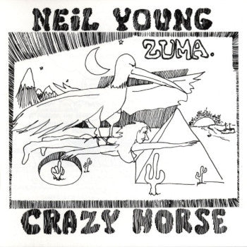 NEIL YOUNG WITH CRAZY HORSE - Zuma LP