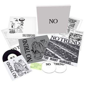 "NO TREND - Too Many Humans LP / Teen Love 12"" BOX"