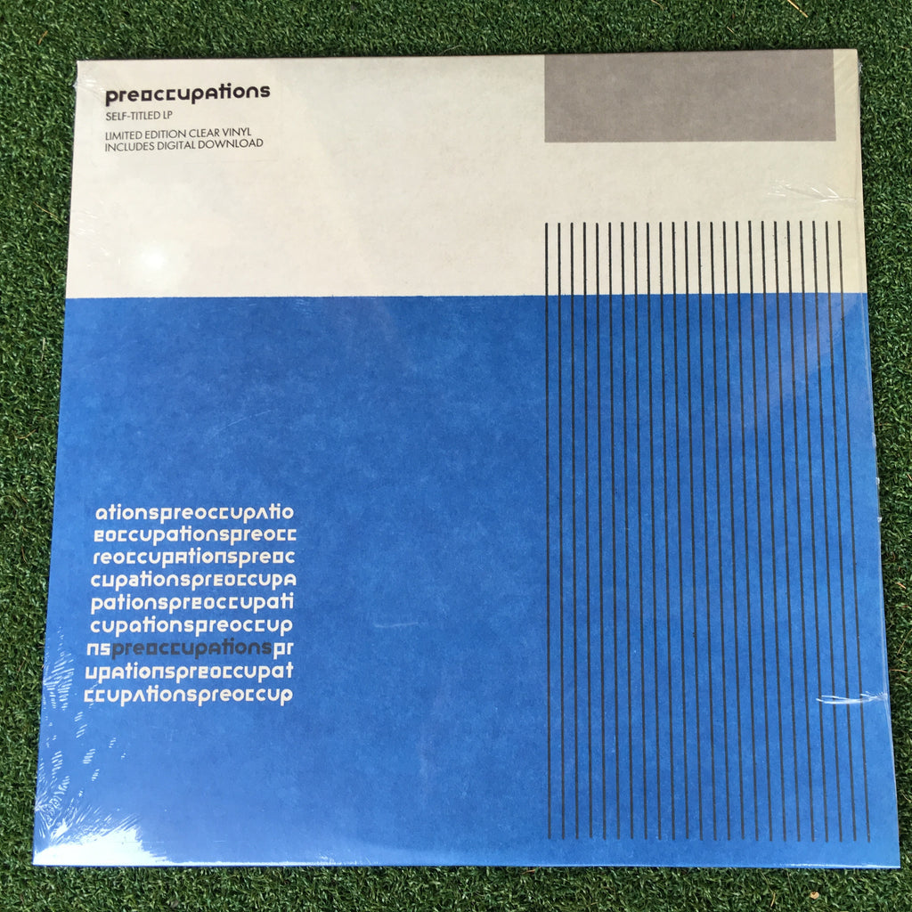PREOCCUPATIONS - s/t LP (colour vinyl)