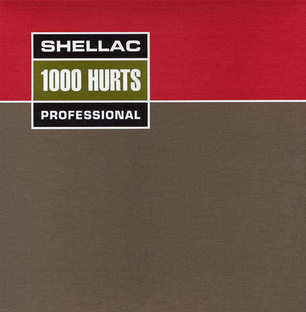 SHELLAC - 1000 Hurts LP