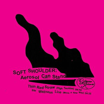 SOFT SHOULDER - Aerosol Can Stand 7""