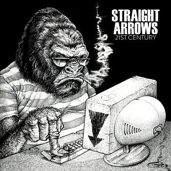 STRAIGHT ARROWS - 21st Century / Cyberbully 7""