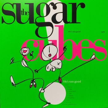 SUGARCUBES - Life's Too Good LP (colour vinyl)