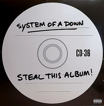 SYSTEM OF A DOWN - Steal This Album 2LP