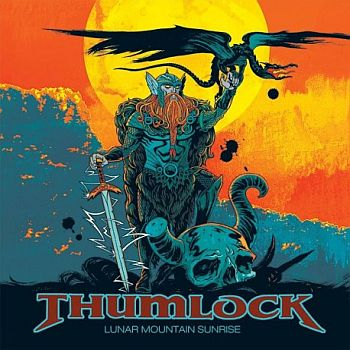 THUMLOCK - Lunar Mountain Sunrise LP (colour vinyl)