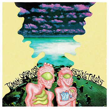 TIMMY'S ORGANISM - Eating Colors LP