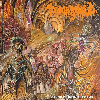 TOMB MOLD - Manor of Infinite Forms LP (colour vinyl)