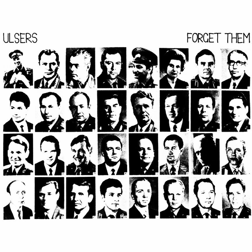 ** FLASH SALE ** ULSERS - Forget Them LP