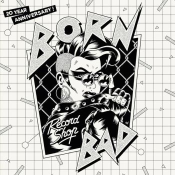 v/a- BORN BAD RECORD SHOP 20 YEAR ANNIVERSARY LP