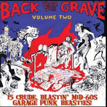 v/a- BACK FROM THE GRAVE vol. 2 LP
