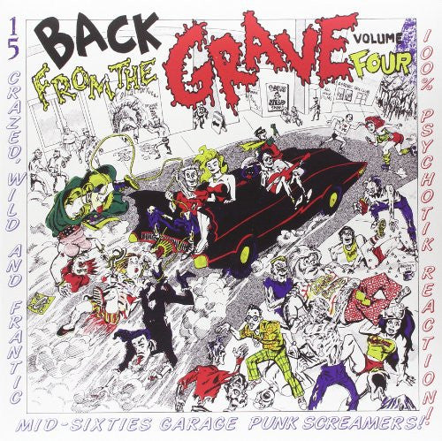 v/a- BACK FROM THE GRAVE vol. 4 LP