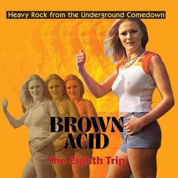 v/a- BROWN ACID: THE EIGHTH TRIP LP (colour vinyl)
