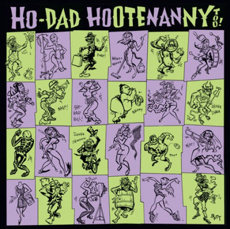 v/a- HO-DAD HOOTENANNY vol. 2 2LP