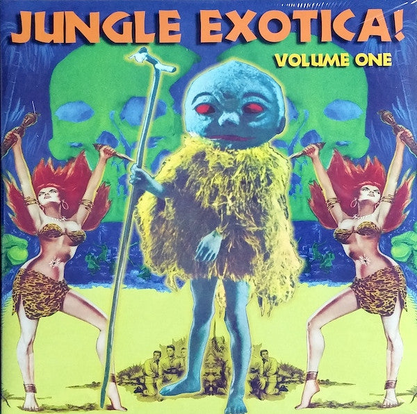 v/a- JUNGLE EXOTICA vol. 1 2LP
