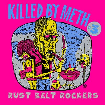 v/a- KILLED BY METH Vol. 3: Rust Belt Rockers LP