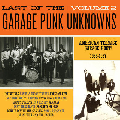 v/a- LAST OF THE GARAGE PUNK UNKNOWNS vol. 2 LP