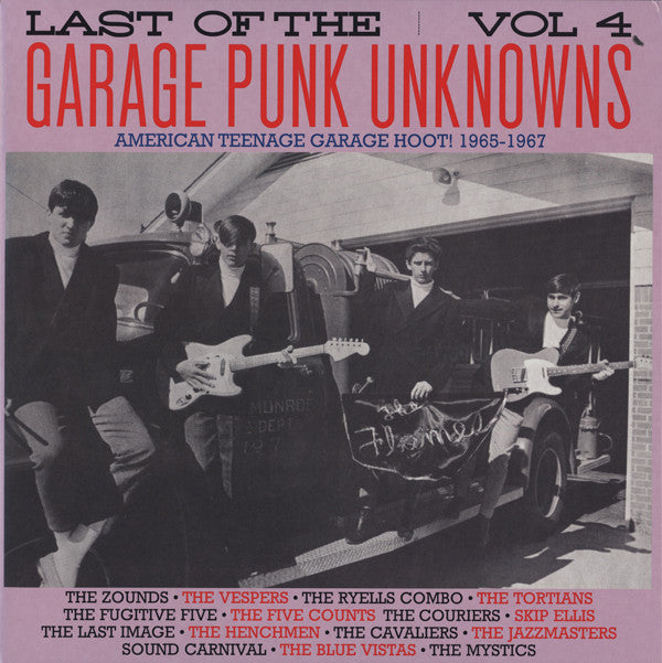 v/a- LAST OF THE GARAGE PUNK UNKNOWNS vol. 4 LP