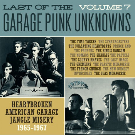 v/a- LAST OF THE GARAGE PUNK UNKNOWNS vol. 7 LP