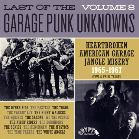 v/a- LAST OF THE GARAGE PUNK UNKNOWNS vol. 8 LP