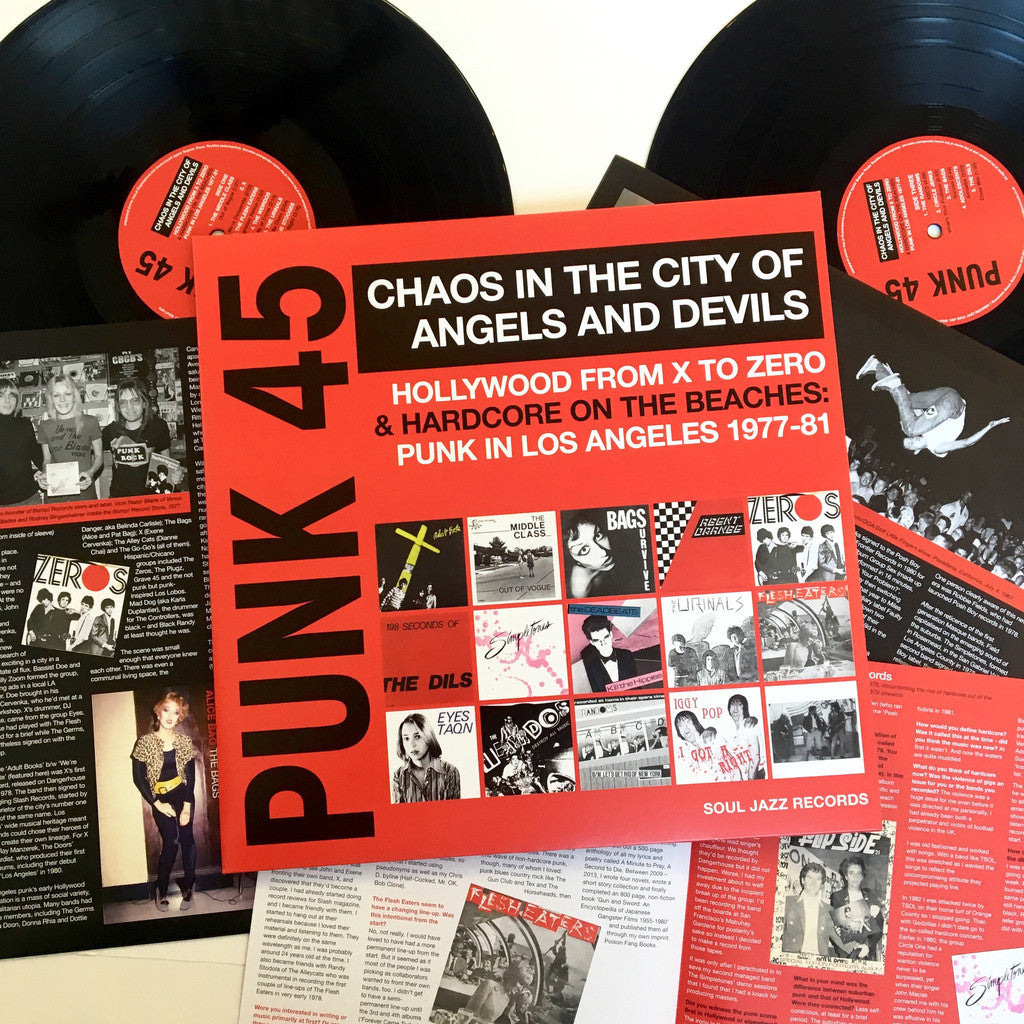 v/a- CHAOS IN THE CITY OF ANGELS AND DEVILS: PUNK IN LOS ANGELES 1977-81 2LP