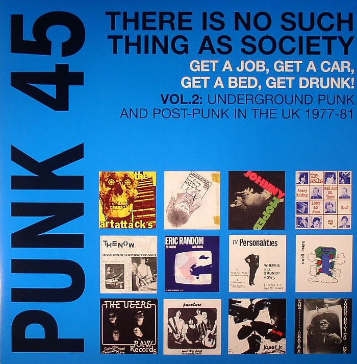 v/a- THERE IS NO SUCH THING AS SOCIETY - UNDERGOUND PUNK AND POST-PUNK IN THE UK 1977-81 2LP