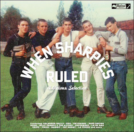 v/a- WHEN SHARPIES RULED 2LP