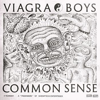 "* PREORDER * VIAGRA BOYS - Common Sense 12"" (colour vinyl)"