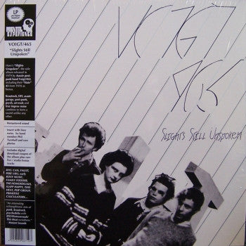 ** FLASH SALE ** VOIGT/465 - Slights Still Unspoken LP / CD