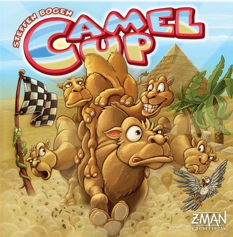 Camel Up Board