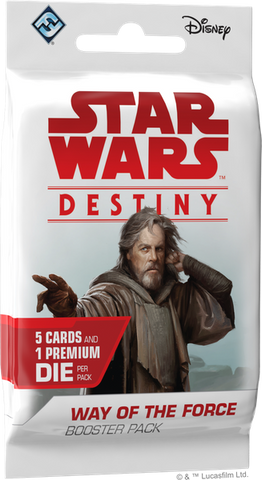 Star Wars Destiny Way of the Force Boosters