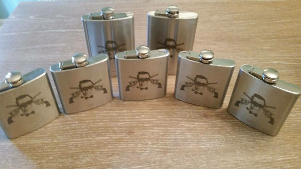 Custom H^3 flasks