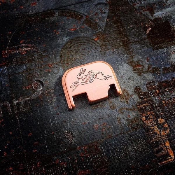 Classy Raptor DRS Copper base pad and back plate combo (Small frame Glock)