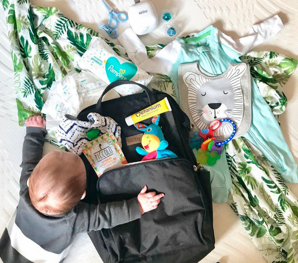 Nappy Bag Essentials: A Checklist for You and Baby