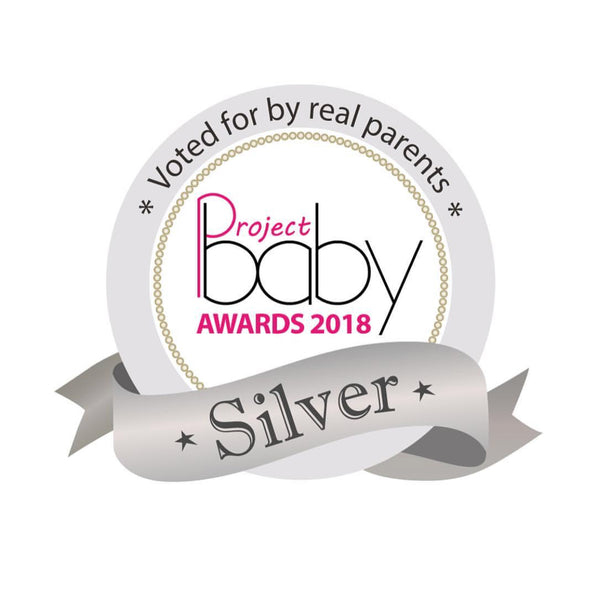 Silver Award Winner 2018 - Project Baby Magazine