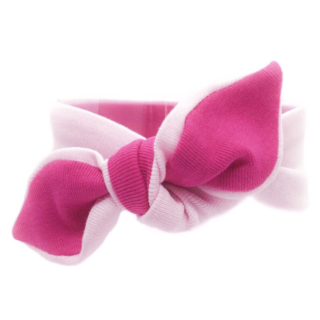 Baby & Toddler Knotted Hair Band/Bow - Pink