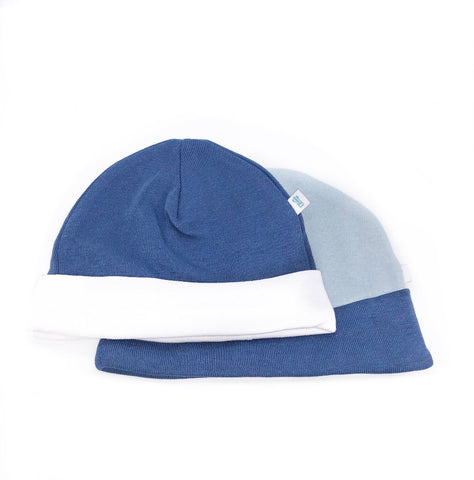 Blue Baby Hat 2 Pack